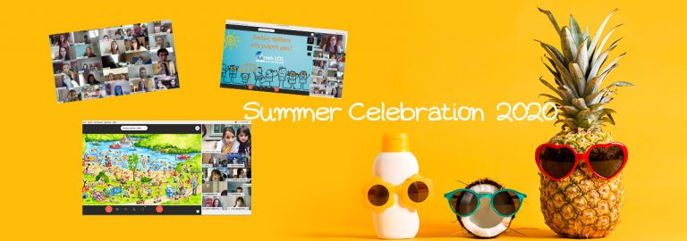 summer 2020 online celebration